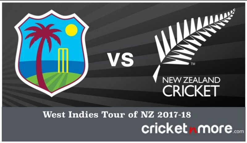 WI tour of NZ 2017
