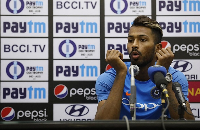 I asked for the rest, says all-rounder Hardik Pandya