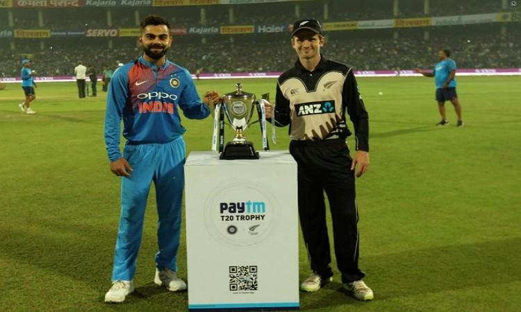 India vs New Zealand 2nd T20I Live Score