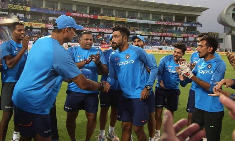 Mohammed Siraj debut for India in second t20i against New Zealand
