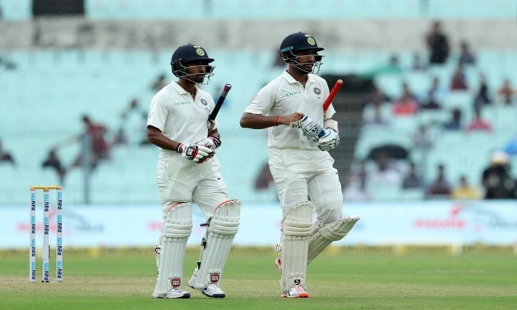 Chesteshwar Pujara wages lone battle as India totter at 74/5 at lunch