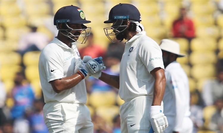 Nagpur Test: Vijay, Pujara put India in commanding position