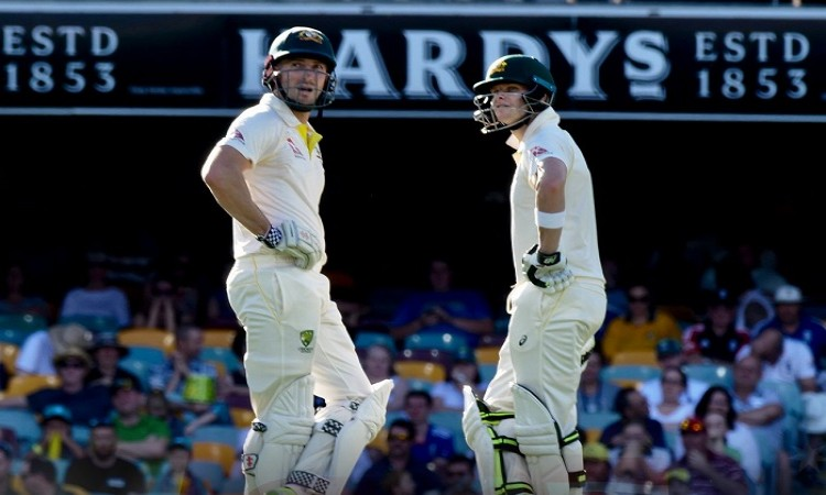 Ashes: Steve Smith, Shaun Marsh keep Australia alive after England's 302 on Day 2