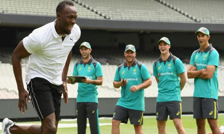 Usain Bolt gives tips to Aussies on improving running between wickets