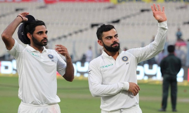 Bhuvneshwar Kumar vital part of plan, especially overseas, says Skipper Virat Kohli