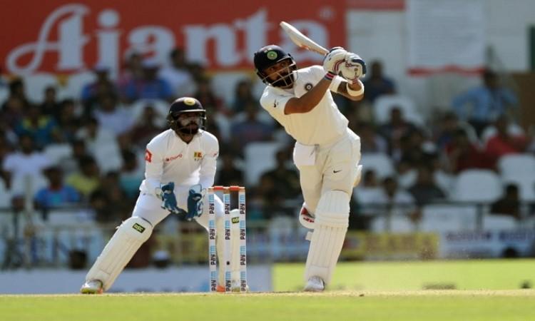Nagpur Test: Virat Kohli, Rohit Sharma help India take massive lead (Tea Report)