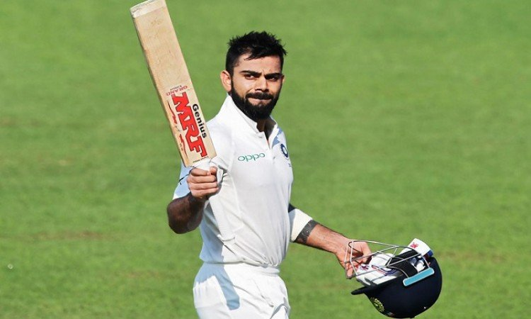 virat kohli equals rahul dravid record of most 50 score in calendar year as a captain