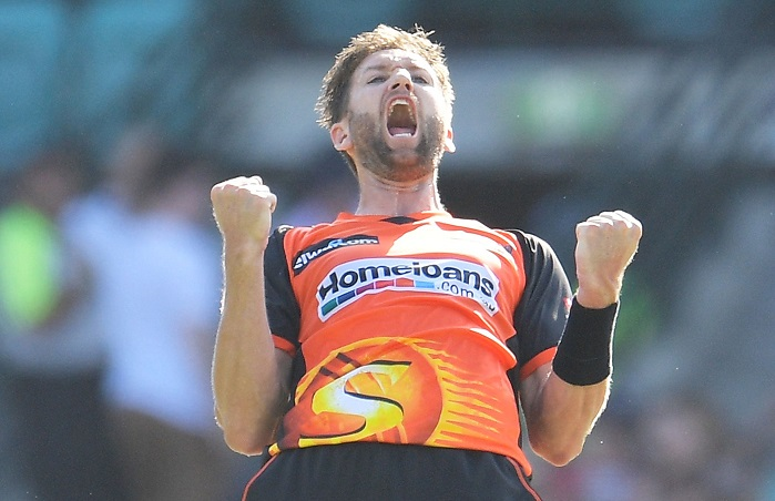 Andrew Tye grabs second BBL hat-trick