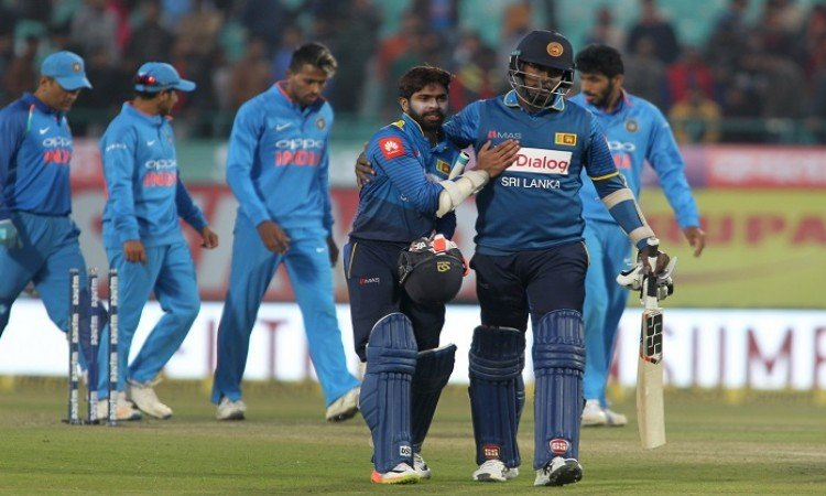 Hamstring injury rules Angelo Mathews out of final T20I vs India