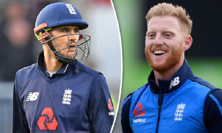 Ben Stokes and Alex Hales included in England ODI squad against Australia