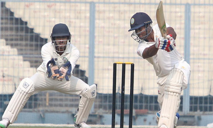 Ganesh Satish keeps Vidarbha afloat in Ranji Trophy semis
