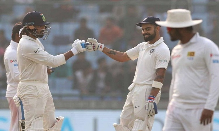 Delhi Test: India post commanding 371/4 at stumps on day 1