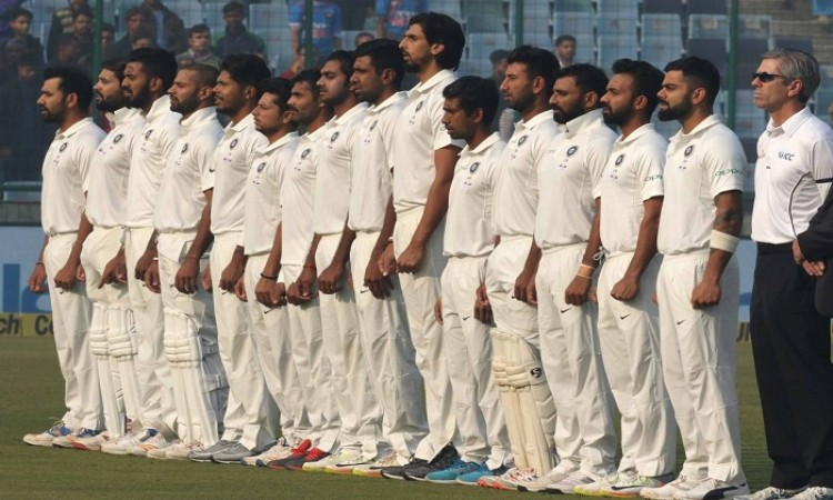 Images for Indian cricket team commemorates Armed Forces week