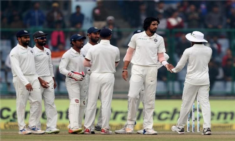 Delhi Test: India vs Sri Lanka Day 2 scoreboard