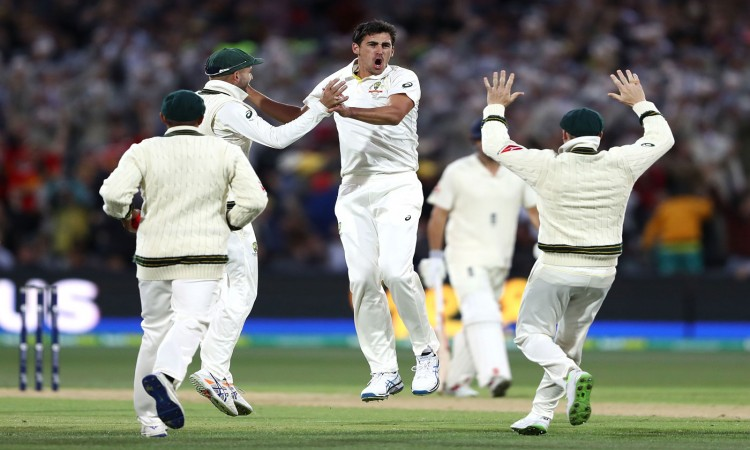 Mitchell Starc stars in Australia's 120-run win in second Ashes Test