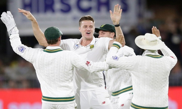Morne Morkel puts South Africa on top vs Zimbabwe in one off Test
