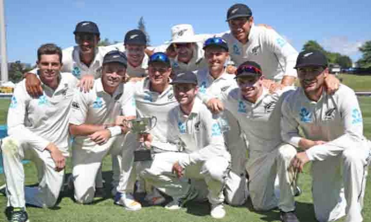 New Zealand complete 2-0 whitewash of West Indies Images