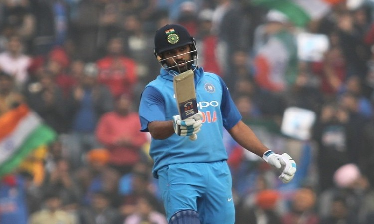Rohit Sharma scores 16th ODI century, first as India captain