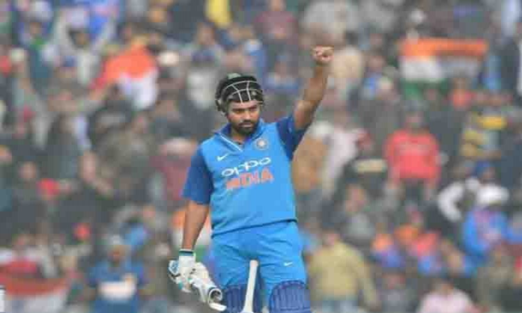 Rohit Sharma records third double-ton in ODIs Images
