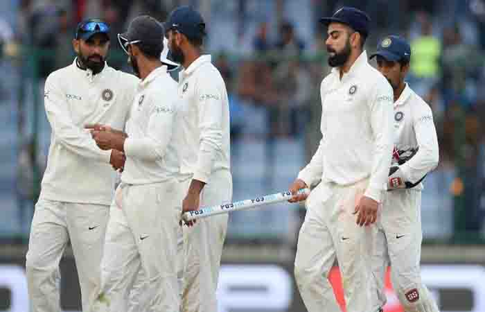 Sri Lanka hold on for draw vs India in 3rd test Images