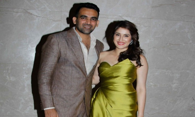 Sagarika and I support each other's career, says Zaheer Khan