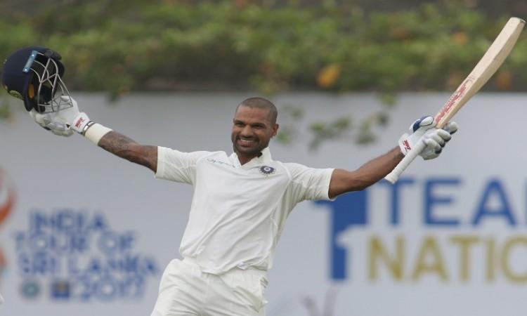 Shikhar Dhawan completed 2000 Test runs