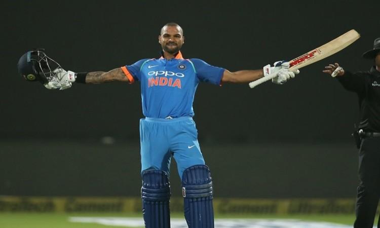 Shikhar Dhawan fifth fastest to reach 12th ODI century