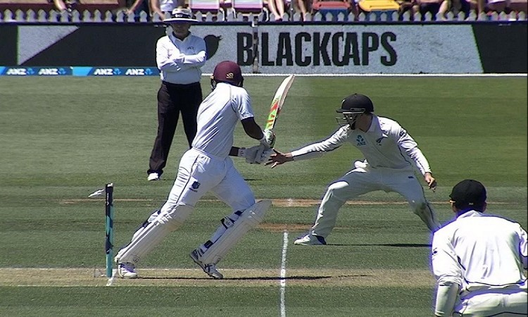 West Indies Sunil Ambris makes history with hit wicket golden duck on test debut
