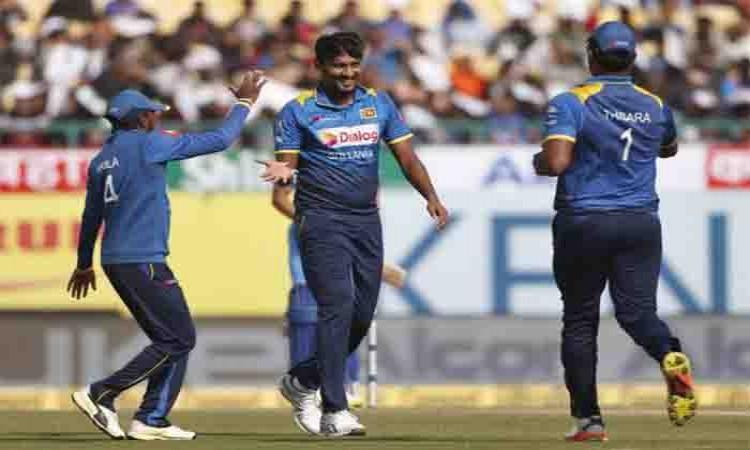 Suranga Lakmal helps Sri Lanka dismiss India for 112 in first ODI Images