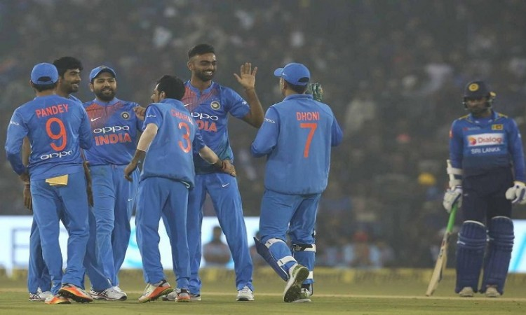 India vs Sri Lanka 2nd T20I stats