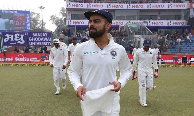 Delhi Test: Sri Lanka trail by 405 runs against India on Day 2
