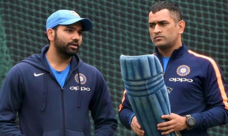 On MS Dhoni's Place In Team, Rohit Sharma's Response To Critics