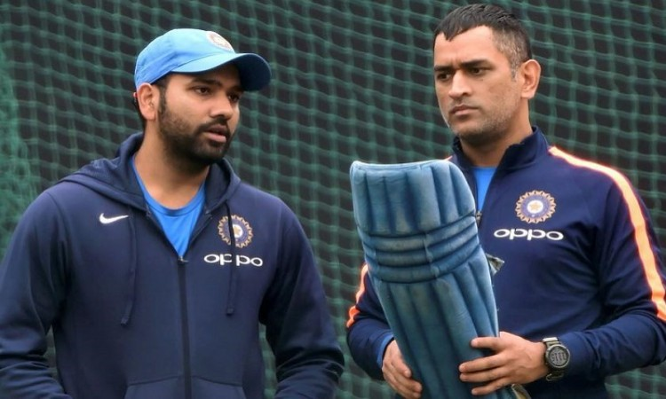 Rohit Sharma defends Dhoni's place in ODI, T20I teams