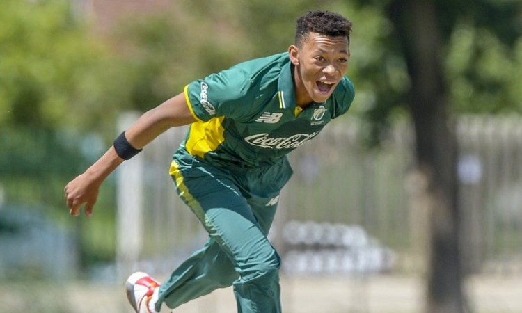 Images for Makhaya Ntini's son Thando in South Africa's U-19 World Cup squad