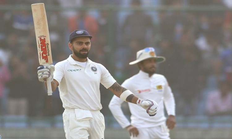 India at 500/5 at lunch on Day 2 of Kotla Test