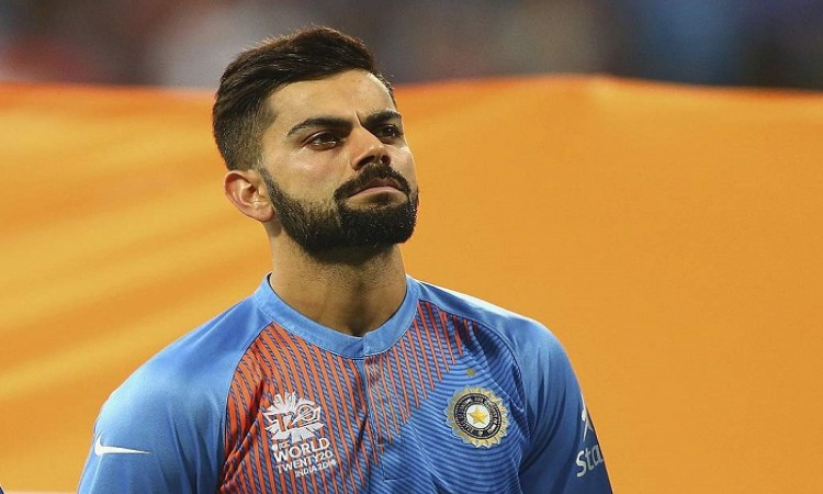 Virat Kohli slip to third place in the ICC T20I ranking