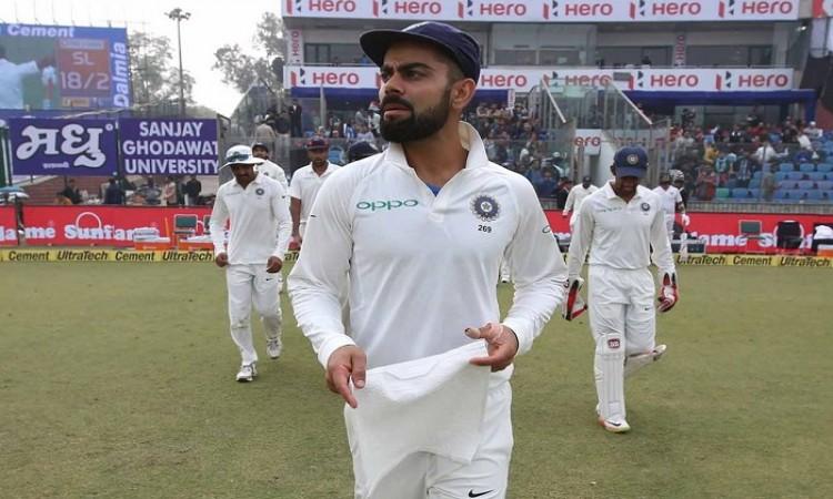 India vs Sri Lanka Delhi Test under threat due to smog