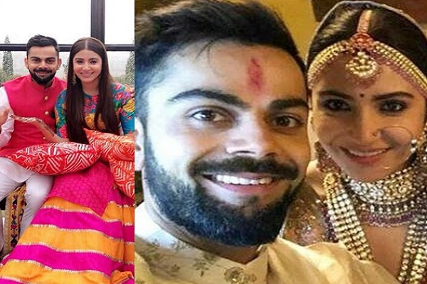 Virat Kohli And Anushka Sharma's Wedding Pic1 Images in Hindi