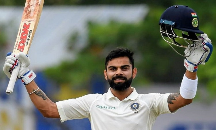 Virat Kohli fifth fastest batsman to hit 20 test century