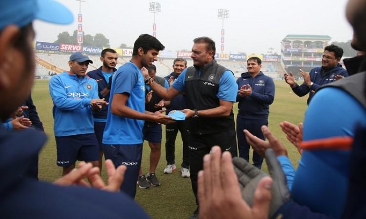 Washington Sundar to make his debut for India
