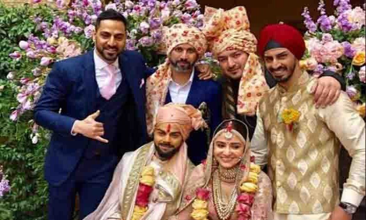 Bollywood, sports stars wish Virat, Anushka a happily ever after Images