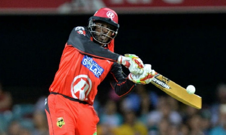 Chris Gayle smashes T20 records in BPL 2017 final Images