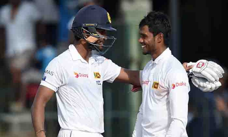 Dhananjaya de Silva, Dinesh Chandimal stand b/w India's victory (Lunch Report)
