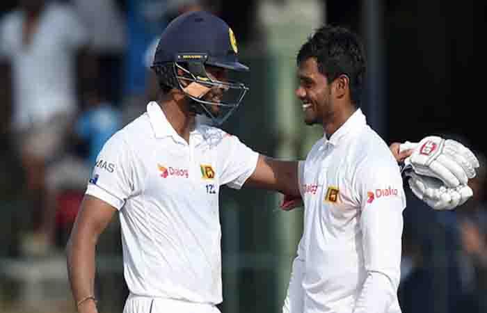 Dhananjaya de Silva, Dinesh Chandimal stand b/w India's victory (Lunch Report)