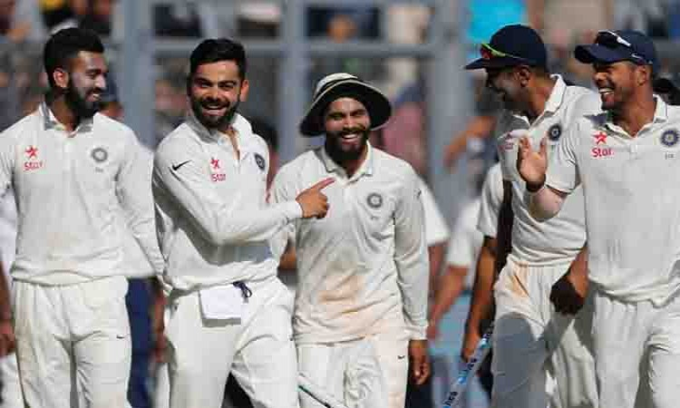 India register 9th straight series win after drawing Delhi Test Images