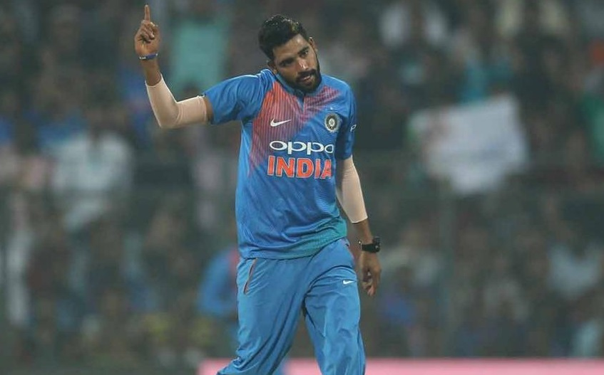 Mohammed Siraj 98 runs in first 2 t20 international matches
