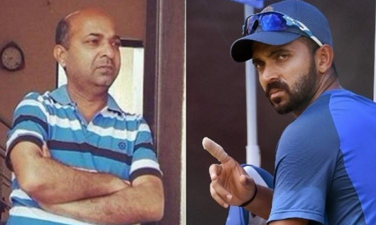 Cricketer Ajinkya Rahane's dad detained for rash driving which killed woman Images