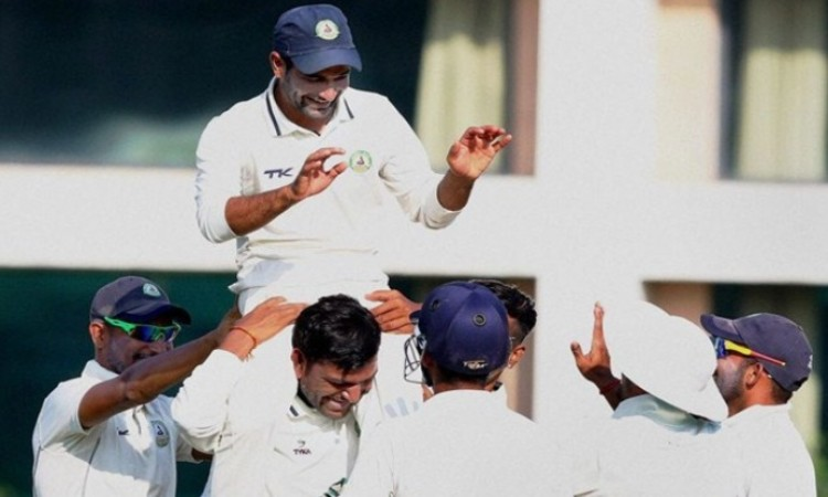 Ranji Trophy: Sudip Chatterjee helps Bengal post 269/7 on Day 1 Images