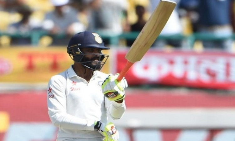 Ravindra Jadeja smashes 6 sixes in an over in SCA district T20 tournament Images