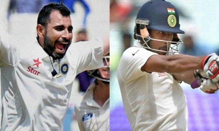 Mohammed Shami, Wriddhiman Saha boost Bengal in Ranji semis vs Delhi Images